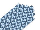 трубочки класс синие полоски
