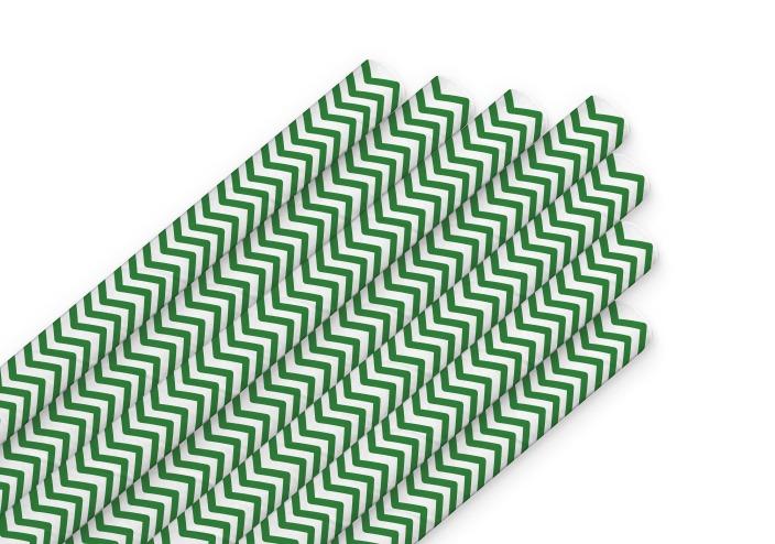 трубочки класс зеленые полоски