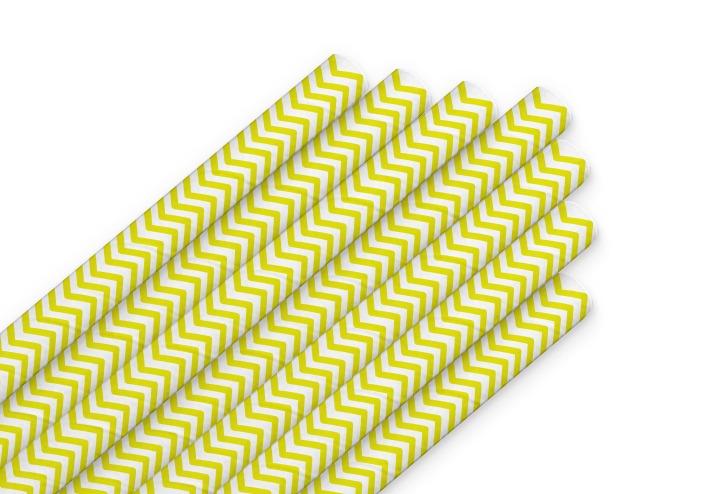 трубочки класс желтые полоски