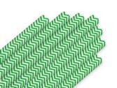 Крупные_Мелкая полоска_Зеленый